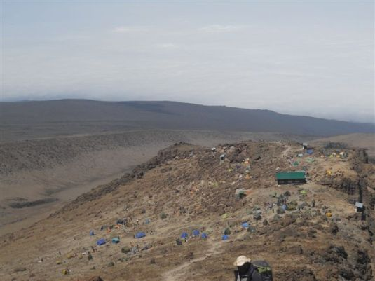 Base Camp was insight, rest would soon come and sleep would take over completely. It wasn't long now.