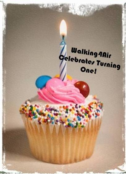 Walking4Air Celebrates Turning One