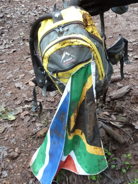 Team South Africa has come, conquered and even rolled in the mud! We were here! Photo by Judi Kurgan
