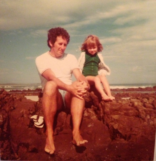 A day out at the beach ~ Me and my dad.