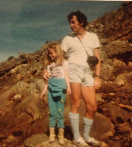 Back on the mountain again. When I asked my dad today about his long socks in the photo he said they were in fashion back then!!