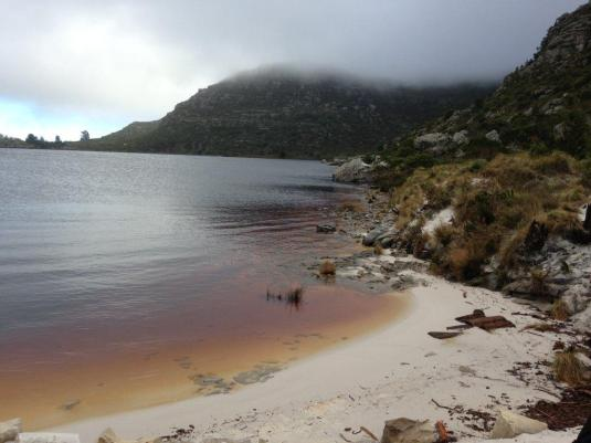 The Hely-Hutchinson dam on top of Table Mountain - Full, full, full ~ so awesome to see.