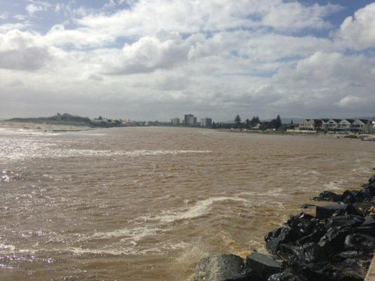 The river mouth at Milnerton.