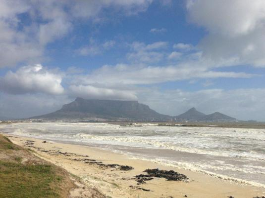 The one thing about this golf course, it has the most stunning views of Table Mountain and the beach.