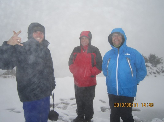 Simon, Bruce and Alan at the top!