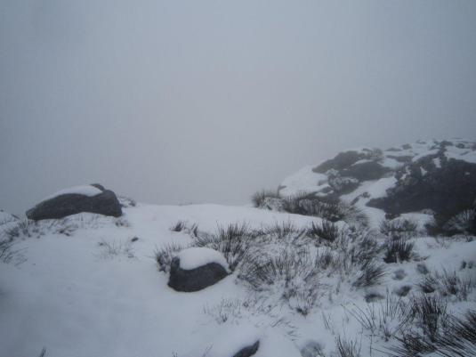 Hiking in the snow is hard but I would do it again and again. It's just magical!