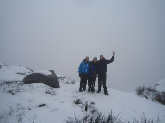 Alan, Me and Simon on the summit! I can't wait till we take another group pic on the summit of Aconcagua!