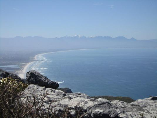 The beach, the sea, snow capped mountains and hike all make for a perfect day!