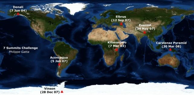 seven-summits-map