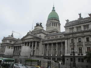 Beautiful buildings around the city that makes me feel like I´m in Europe and not South America.