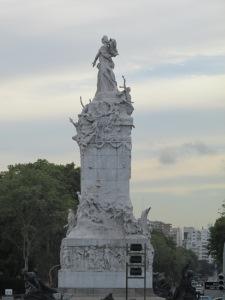 Statues around the city.