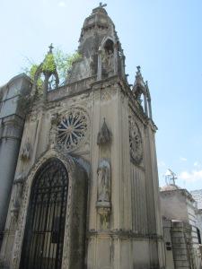 Cementerio de Recoleta.