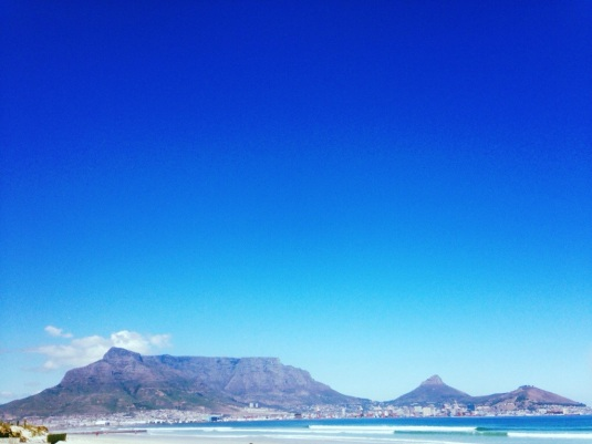 Table Mountain, our very own 7th Natural Wonder of the World.