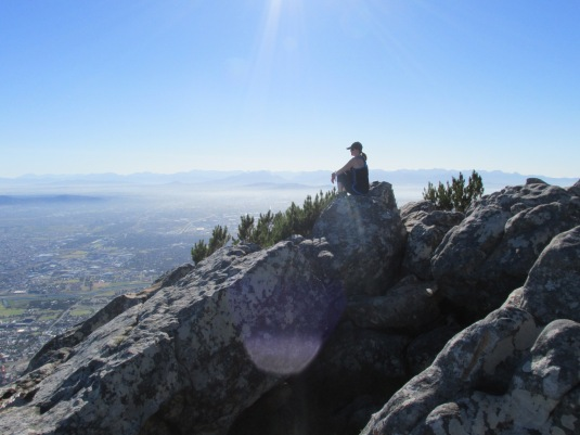 Me, sitting taking in the gorgeous view. Find your passion, then live it! Blessed am I.