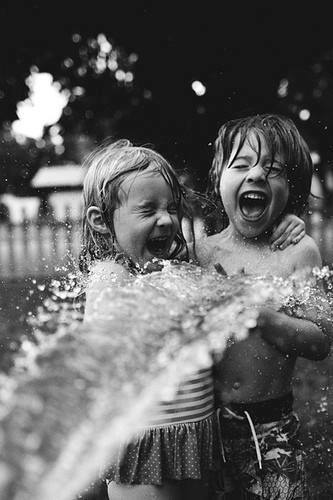 black-and-white-children-happy-water-Favim.com-1069320