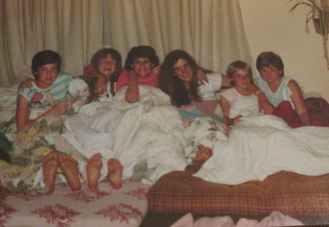 We had so many sleepovers!