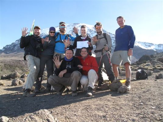 Kilimanjaro Team, July  2012