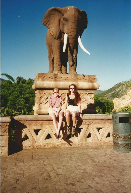 Then we grew up and went to Sun City for a bit of a holiday with your mum and your dad. You tired easily at this stage but that didn't stop us from having a ball! I treasure memories from this time and am so grateful for the time we got to spend together on this trip.