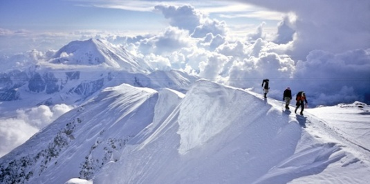 Credit: www.alpineinstitute.com - Climbers approaching the summit of Denali