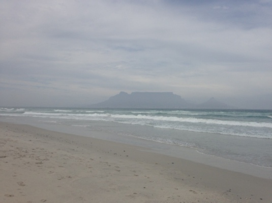 Beautiful overcast stroll of a deserted Blouberg Beach.