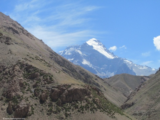 Aconcagua, in all her glory. I couldn't wait to set foot on her!