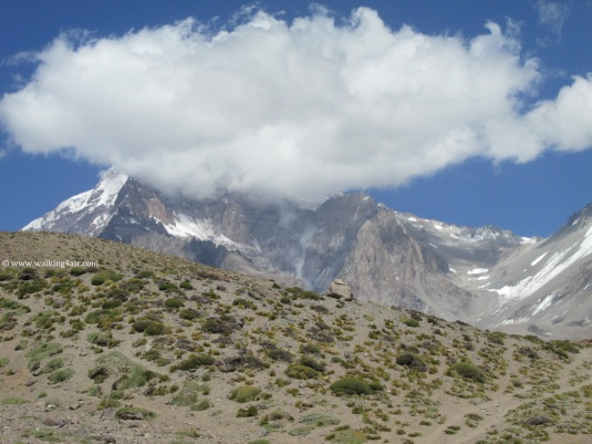 The weather was changing on Aconcagua. It was hot now but soon the jackets would be out and light snow would be falling.