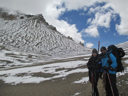 Steve, one of our expedition leaders, and I on our way to Camp 2.